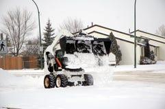 usuwanie śniegu Obrazy Royalty Free