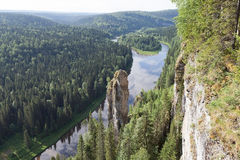 Usvinskie Polonais dans la région de Perm Photographie stock libre de droits