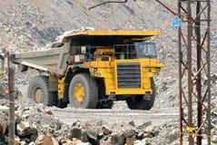 Usyp żółta Ciężarówka Fotografia Stock