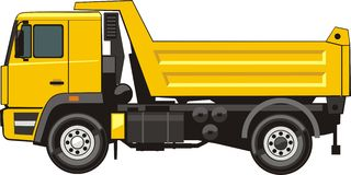 usyp ciężarówka Zdjęcia Royalty Free