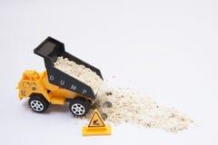 Usyp ciężarówki samochód Zdjęcie Royalty Free