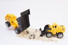 Usyp ciężarówki samochód Zdjęcie Stock