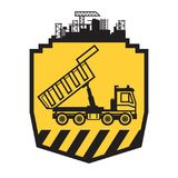 Usyp ciężarówki znak Zdjęcia Royalty Free