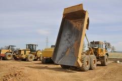 usyp ciężarówka Zdjęcia Stock