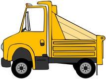 usypu ciężarówki kolor żółty Zdjęcie Royalty Free
