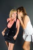 uszaty przyjaciela dziewczyny s target630_0_ Zdjęcia Royalty Free