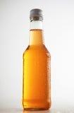 Uszczelnione butelki z orzeźwienie napojem inside Obraz Stock