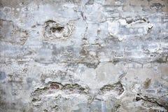 Uszkadzający betonowej ściany tło Zdjęcia Stock