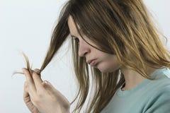 uszkadzający włosy obrazy royalty free