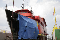 uszkadzający statek Fotografia Stock