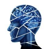 uszkodzenie mózgu ilustracji