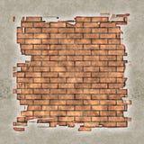 uszkodzona stara ściany zdjęcie royalty free
