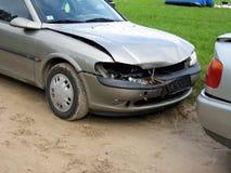 uszkodzonych samochodów Obrazy Royalty Free