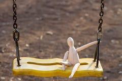 Uszyta beztwarzowa lala Zdjęcia Stock