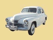 Utövande bil av version II för 50-talfastback GAZ-M20 Pobeda Arkivfoto