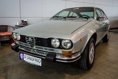 Utövande bilalfabetiskRomeo Alfetta GTV 2000 typ 116, 1978 Royaltyfria Bilder