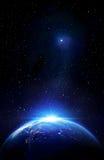 Utöver gränserna av jorden Royaltyfria Bilder