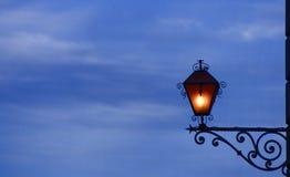 utöver lampa arkivbild