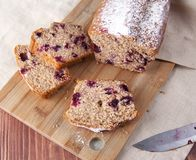 Ut κέικ Ð ¡ σε έναν ξύλινο πίνακα Στοκ Φωτογραφίες