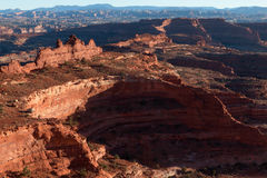 UT-Canyonlands National Park-Island In the Sky area-White Rim Road Royalty Free Stock Images