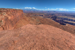 UT-Canyonlands National Park-Island in the Sky District-Grandview Trail Stock Photo