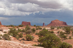 UT-Canyonlands National Park-Maze District Stock Image