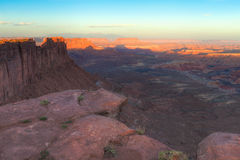 UT-Canyonlands National Park-Maze District Royalty Free Stock Photography