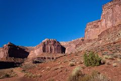 UT-Canyonlands National Park-White Rim Road Stock Image