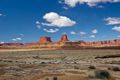 UT_Canyonlands National Pk-White Rim Road. Another fantastic view of the land formations on the White Rim Road Stock Photo