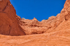 UT-Grand Staircase of the Escalante-Hole in the Rock Road-Devil's Garden area Stock Image