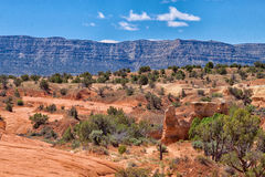 UT-Grand Staircase of the Escalante-Hole in the Rock Road-Devil's Garden area Stock Photos