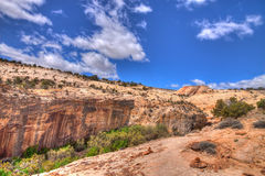 UT-Grand Staircase of the Escalante Stock Photography
