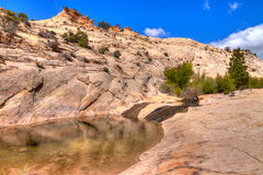 UT-Grand Staircase of the Escalante Royalty Free Stock Photos