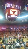 UT Longhorns basketball game Royalty Free Stock Photo