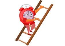 ut running tid stock illustrationer