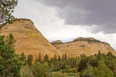 UT-Zion National Park-Zion Canyon Stock Photo