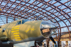 The Utah Beach D-Day Museum B26 marauder Royalty Free Stock Photography