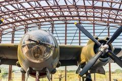 The Utah Beach D-Day Museum B26 marauder Stock Images
