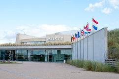 The Utah Beach D-Day Museum, Normandy, France. royalty free stock images