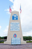 Utah Beach Memorial for 1st Engineer Special brigade royalty free stock image