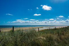 The Utah Beach in Normandy Royalty Free Stock Images
