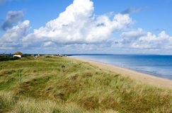 Utah beach. stock images