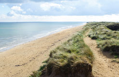 Utah beach. Royalty Free Stock Photos