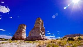 Utah-Berg in der Helligkeit Lizenzfreie Stockfotografie