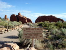 Utah: Bogen Nationaal Park Stock Fotografie