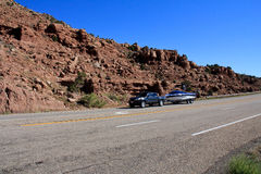 Utah: Bogserafartyg för lastbil Royaltyfri Bild