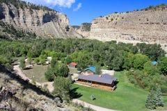 Utah: Cabin lots Stock Image