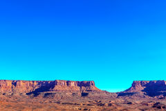 Utah-Canyonlands National Park-Island in the Sky District-White Rim Road Royalty Free Stock Photos