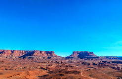 Utah-Canyonlands National Park-Island in the Sky District-White Rim Road Stock Image