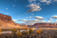 Utah-Canyonlands National Park-Island in the Sky District-White Rim Road Royalty Free Stock Photography